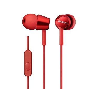 Tai nghe nhét tai In-ear SONY MDR-EX150AP (Đỏ) - Hãng phân phối chính thức