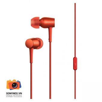 Tai nghe nhét tai Sony Hi-res In-ear MDR-EX750AP (Đỏ)