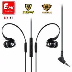 Mua Tai nghe Nubwo NY51 cho Apple EarPods iPhone 6/6s (Đen)  Tại Đèn diệt côn trùng
