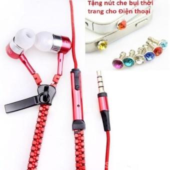 Tai nghe Thời trang Cao cấp Zipper (có khóa kéo chống rối) + TặngNút bịt chống bụi thời trang cho điện thoại - 8400499 , OE680ELAA5D0E2VNAMZ-9855704 , 224_OE680ELAA5D0E2VNAMZ-9855704 , 49600 , Tai-nghe-Thoi-trang-Cao-cap-Zipper-co-khoa-keo-chong-roi-TangNut-bit-chong-bui-thoi-trang-cho-dien-thoai-224_OE680ELAA5D0E2VNAMZ-9855704 , lazada.vn , Tai nghe Thời tra