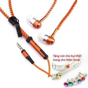 Tai nghe Thời trang Cao cấp Zipper (có khóa kéo chống rối) + TặngNút bịt chống bụi thời trang cho điện thoại - 8401708 , OE680ELAA5PA1KVNAMZ-10457701 , 224_OE680ELAA5PA1KVNAMZ-10457701 , 49600 , Tai-nghe-Thoi-trang-Cao-cap-Zipper-co-khoa-keo-chong-roi-TangNut-bit-chong-bui-thoi-trang-cho-dien-thoai-224_OE680ELAA5PA1KVNAMZ-10457701 , lazada.vn , Tai nghe Thời