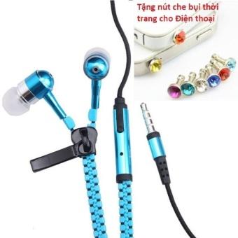 Tai nghe Thời trang Cao cấp Zipper (có khóa kéo chống rối) + TặngNút bịt chống bụi thời trang cho điện thoại - 8401706 , OE680ELAA5PA1IVNAMZ-10457698 , 224_OE680ELAA5PA1IVNAMZ-10457698 , 49600 , Tai-nghe-Thoi-trang-Cao-cap-Zipper-co-khoa-keo-chong-roi-TangNut-bit-chong-bui-thoi-trang-cho-dien-thoai-224_OE680ELAA5PA1IVNAMZ-10457698 , lazada.vn , Tai nghe Thời