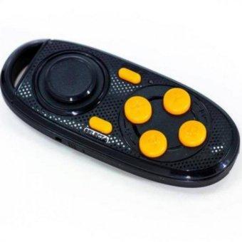 Tay cầm chơi game đa năng Bluetooth (Đen phối cam)