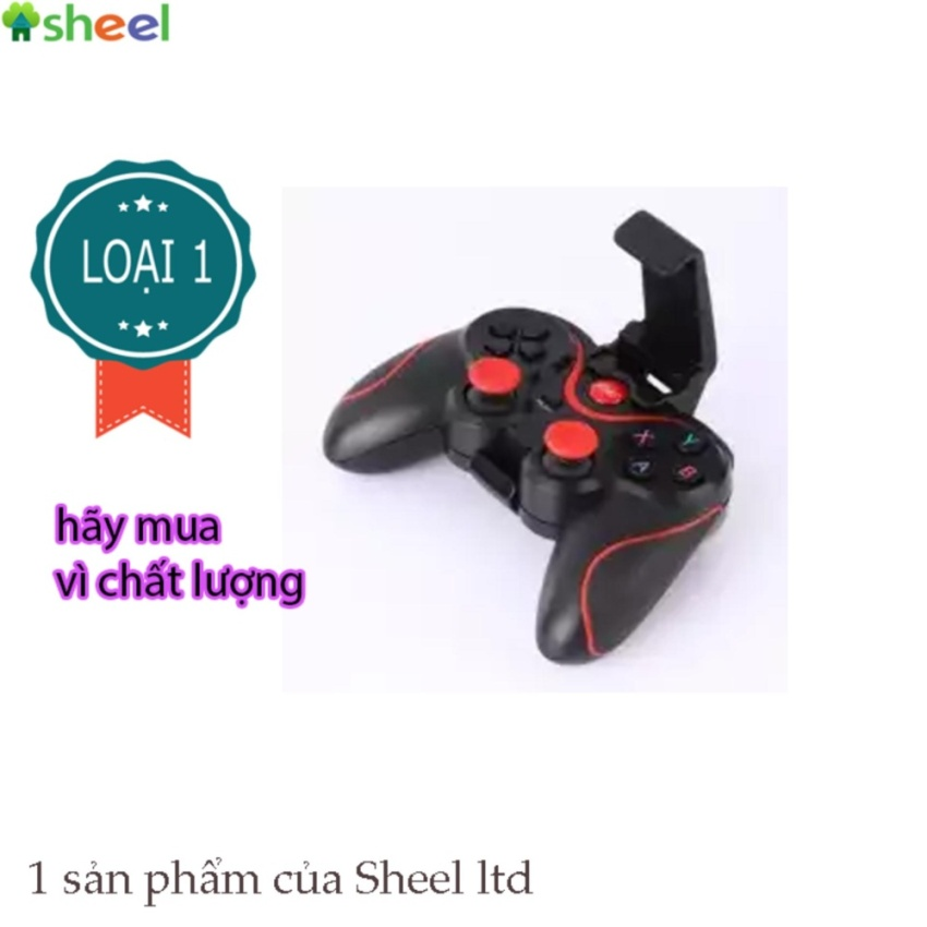 Tư vấn mua TAY GAME ĐT BLUETOOTH C6 SHEEL LOẠI 1
