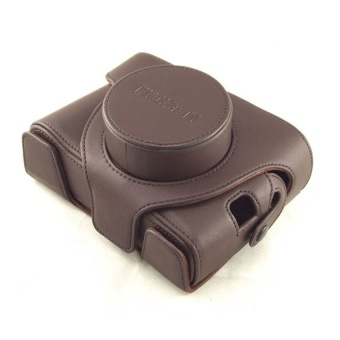 The color of coffee PU Leather Camera Case ForFujifilmX100X100S(Intl) - intl