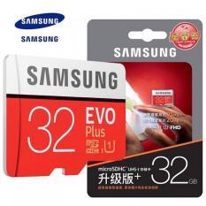 Thẻ nhớ MicroSD Samsung Evo Plus 32GB cho điện thoại, máy ảnh siêu tốc Class 10 U1 - tốc độ 95MB/s (bạc, đỏ)