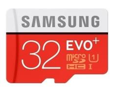 Thẻ nhớ MicroSDHC Samsung EVO Plus 32GB 80MB/s (Đỏ)