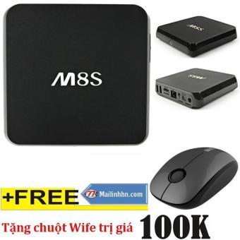 Thiết bị Android smart TV Box M8S + khuyến mại chuôt Wife (Đen) - 8256390 , M8320ELAA2SAMFVNAMZ-4788418 , 224_M8320ELAA2SAMFVNAMZ-4788418 , 1900000 , Thiet-bi-Android-smart-TV-Box-M8S-khuyen-mai-chuot-Wife-Den-224_M8320ELAA2SAMFVNAMZ-4788418 , lazada.vn , Thiết bị Android smart TV Box M8S + khuyến mại chuôt Wife (Đ