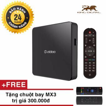 Thiết bị Android TV Box Zidoo X7 - Android 7.1 + Tặng kèm chuột bayMX3
