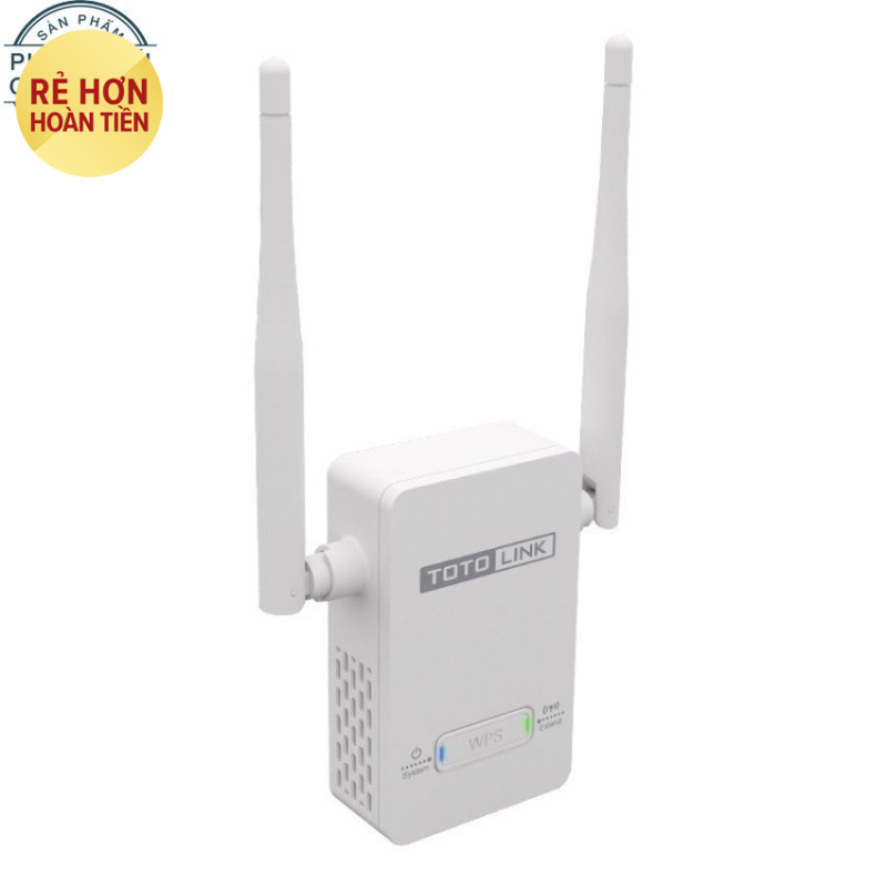 Nơi bán Thiết bị Kích sóng WiFi Repeater TOTOLINK EX200 (Trắng) - Hãng phân phối chính thức