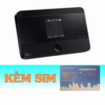Thiết bị phát wifi bằng sim 4G Tp Link M7350 – wifi không dây4G+Sim 4G Vinaphone giá rẻ trọn gói 6 t...