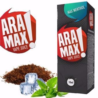Tinh dầu JuiceForVape Aramax vị Bạc Hà chai 10ml-3mg