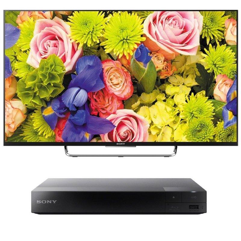 Bảng giá Tivi LED Sony 55inch Full HD - Model KDL-55W800C (Đen) + Tặng 1 Đầu đĩa Bluray Sony BDP-S1500 (Đen)