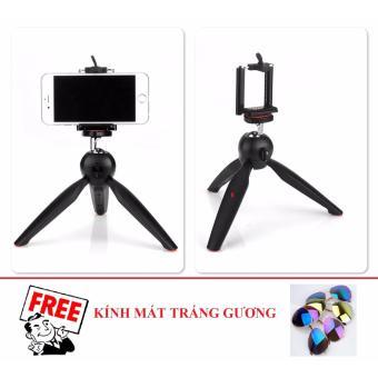 Tripod mini cho điện thoại và máy ảnh YT228 (Đen) + Tặng 1 Kính mát tráng gương - 8396029 , OE680ELAA4S8YUVNAMZ-8809365 , 224_OE680ELAA4S8YUVNAMZ-8809365 , 95000 , Tripod-mini-cho-dien-thoai-va-may-anh-YT228-Den-Tang-1-Kinh-mat-trang-guong-224_OE680ELAA4S8YUVNAMZ-8809365 , lazada.vn , Tripod mini cho điện thoại và máy ảnh YT228 (Đ