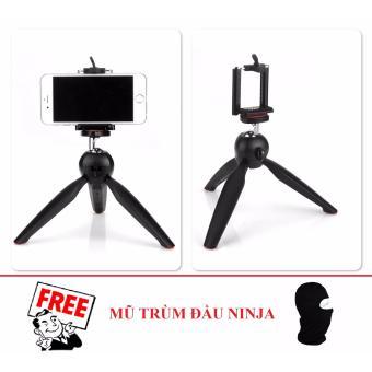 Tripod mini cho điện thoại và máy ảnh YT228 (Đen) + Tặng 1 Mũ trùmđầu NINJA - 8396032 , OE680ELAA4S9A9VNAMZ-8810001 , 224_OE680ELAA4S9A9VNAMZ-8810001 , 99000 , Tripod-mini-cho-dien-thoai-va-may-anh-YT228-Den-Tang-1-Mu-trumdau-NINJA-224_OE680ELAA4S9A9VNAMZ-8810001 , lazada.vn , Tripod mini cho điện thoại và máy ảnh YT228 (Đen)