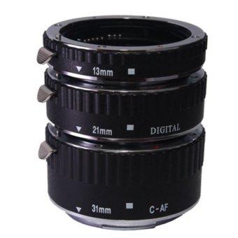 Tube chụp macro có AF cho Canon (Đen)