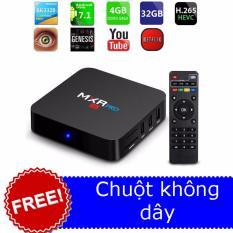 Báo Giá TV Android box gamer MXR Pro 4K ram 4Gb 32Gb + chuột không dây