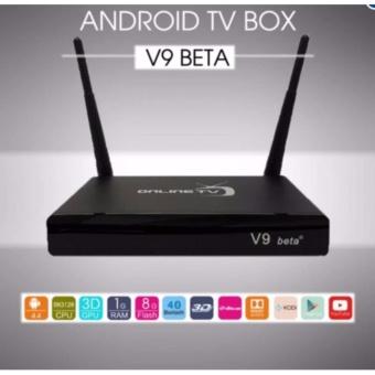 TV box online V9Beta - Android TV Box chính hãng Ram 1G+(đen)