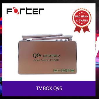 TV BOX Q9S (lá cờ đỏ) - 1 đổi mới 12 tháng - Tặng kèm chuôt Forter không dây