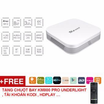 TV Box TX8 MAX RAM 3G/ ROM 32G , Android 7.1 tặng chuột KM800 under-light - 10294298 , OE680ELAA9A5XIVNAMZ-18407193 , 224_OE680ELAA9A5XIVNAMZ-18407193 , 2399000 , TV-Box-TX8-MAX-RAM-3G-ROM-32G-Android-7.1-tang-chuot-KM800-under-light-224_OE680ELAA9A5XIVNAMZ-18407193 , lazada.vn , TV Box TX8 MAX RAM 3G/ ROM 32G , Android 7.1