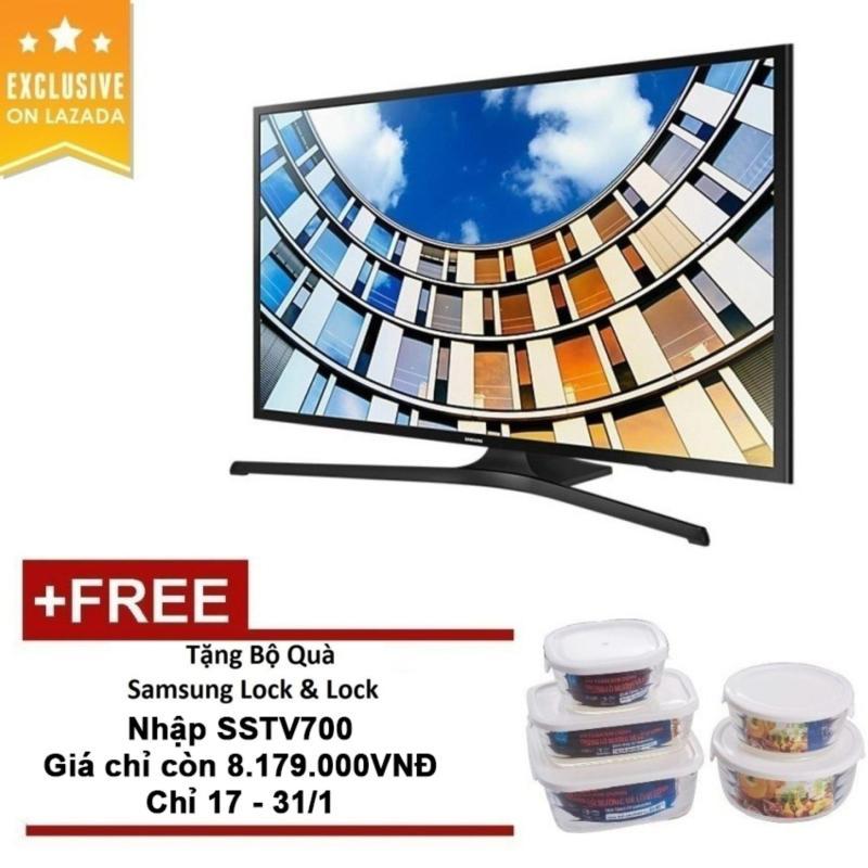 TV LED Samsung 43 inch Full HD - Model UA43M5100AK (Đen) - Hãng Phân phối chính thức + Bộ Quà Samsung Lock&Lock chính hãng