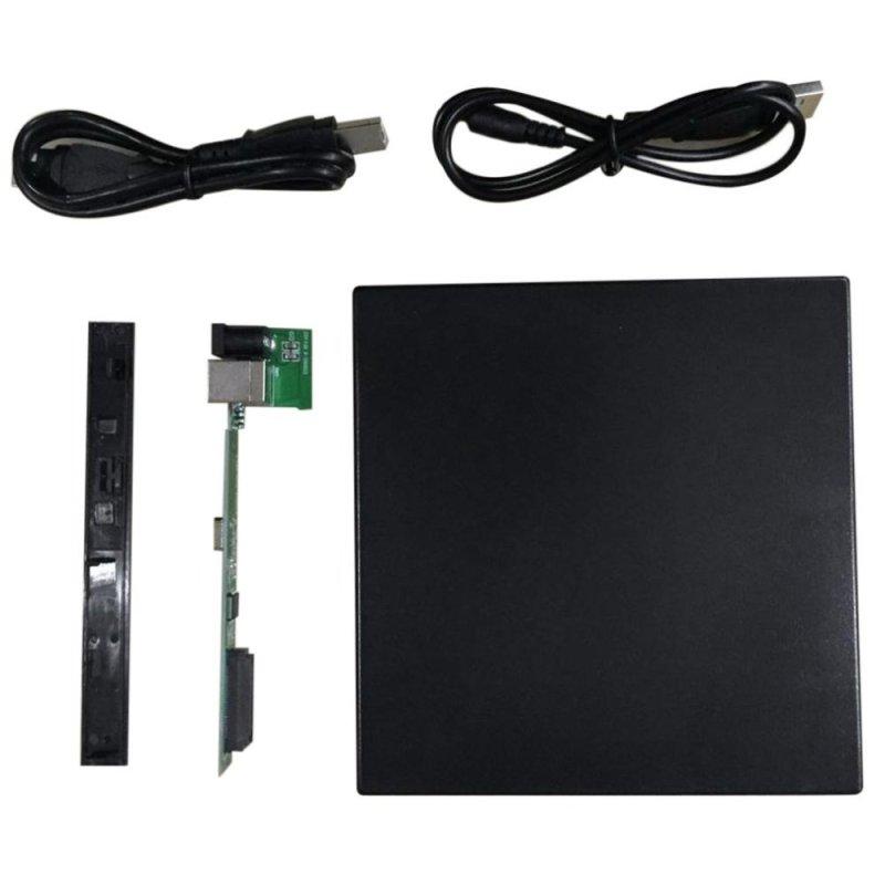 Bảng giá UINN Portable USB 2.0 DVD CD DVD-Rom SATA External Case Slim for Laptop Notebook - intl Phong Vũ