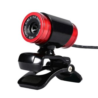 USB 12MP HD Webcam Computer Camera with MIC(Black) - intl