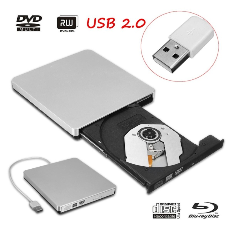 Bảng giá USB2.0 External DVD ROM Player Reader Combo CD-RW Burner Drive for PC Mac Laptop - intl Phong Vũ