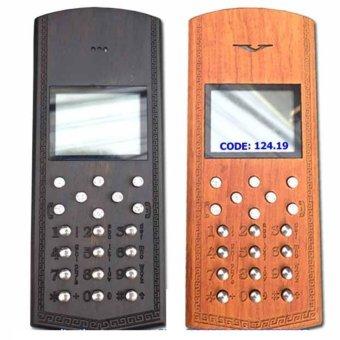 vỏ gỗ,phím inox điện thoại nokia 1280