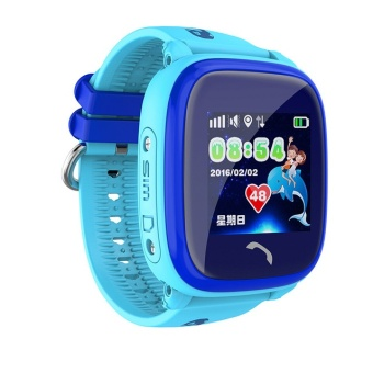 Waterproof DF25 Smart Watch PK Q100 Children GPS Swim touch phoneSOS Call Location Device Tracker Kids Safe Anti-Lost Monitor - intl
