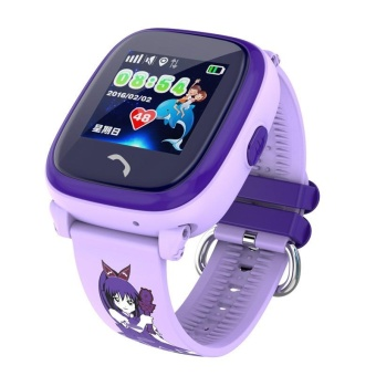 Waterproof GPS smart watch DF25 kids Watch clock SOS Call LocationDevice Tracker Kids Safe Anti-Lost Monitor pk Q50 Q90 Q100 - intl