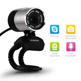 Webcam Ausdom AW335 FullHD tích hợp Micro dành cho AndroidBox và PC
