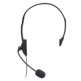 Wired Headset Microphone for Sony PlayStation 4 PS4 Game (Black) -intl