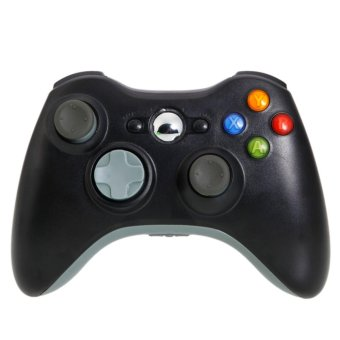 Wireless Controller for XBox 360 Black Gray - intl