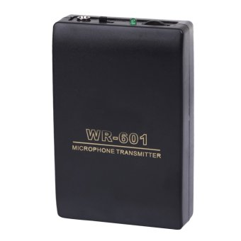Wireless FM Transmitter Receiver Lavalier Lapel Clip Mic System -intl