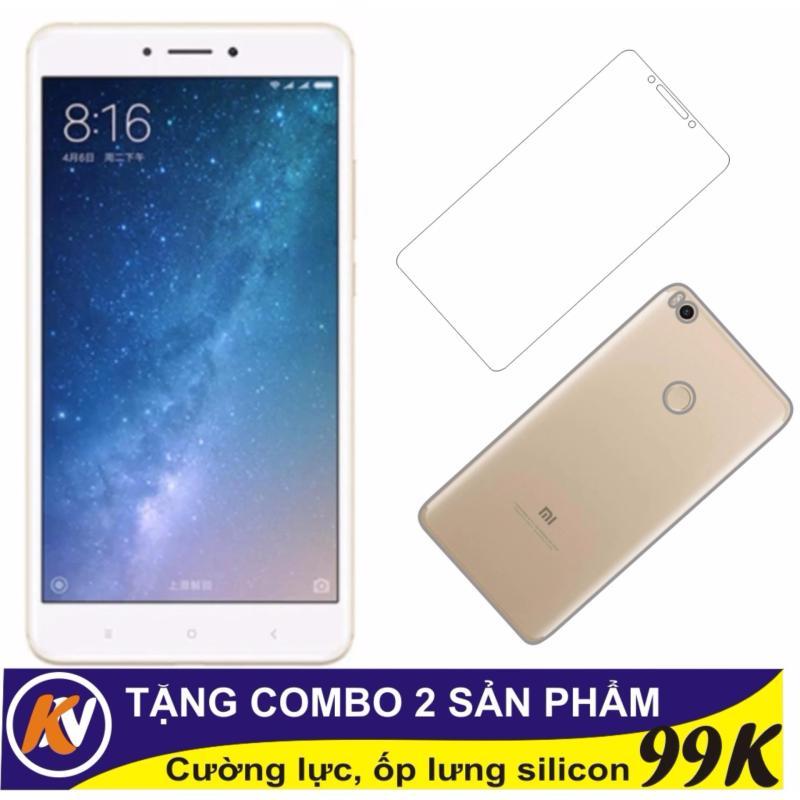 Xiaomi mimax 2 64GB Ram 4GB Kim Nhung (Vàng) - Hàng nhập khẩu + Cường lực + Ốp silicon