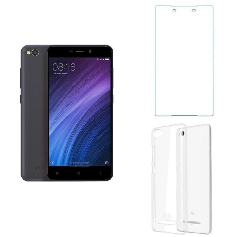 Xiaomi Redmi 4A 16G (Xám) + Ốp lưng + Kính cường lực - Hàng nhập khẩu