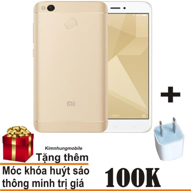Xiaomi Redmi 4X 16GB (Vàng) - Hàng nhập khẩu + Củ sạc đa năng