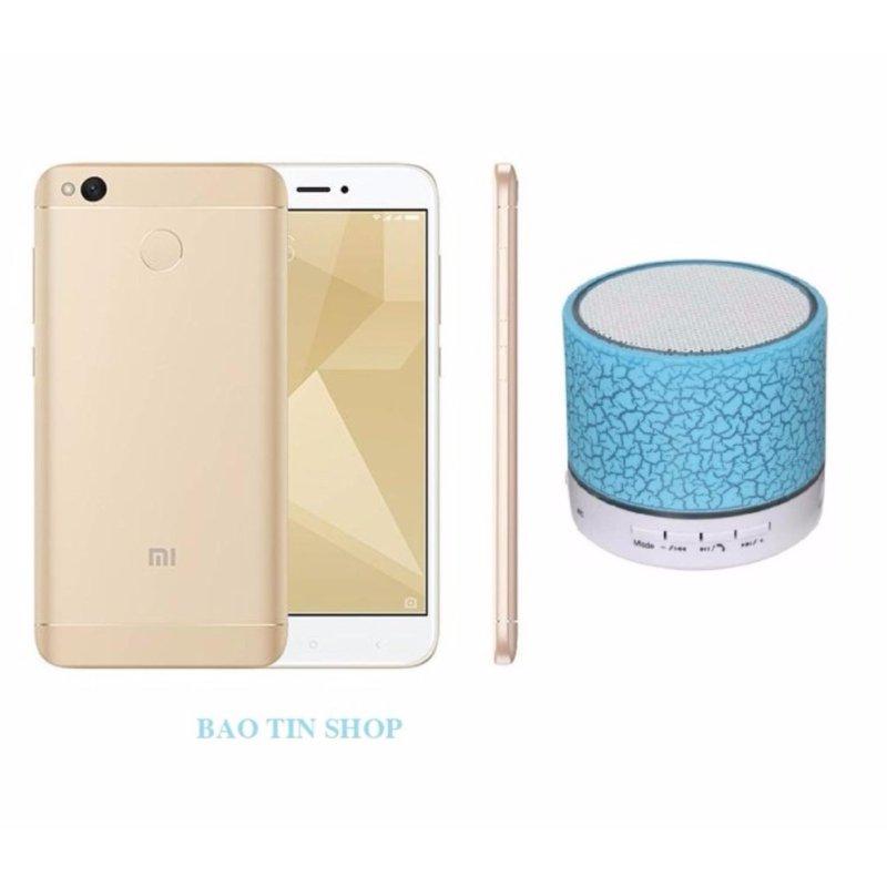 Xiaomi Redmi 4X 16GB (Vàng) + Loa Bluetooth - Hàng nhập khẩu