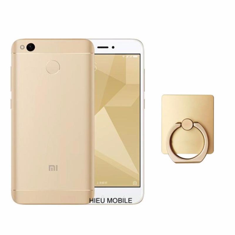 Xiaomi Redmi 4X 16GB (Vàng) + Móc giữ điện thoại thông minh  - Hàng nhập khẩu