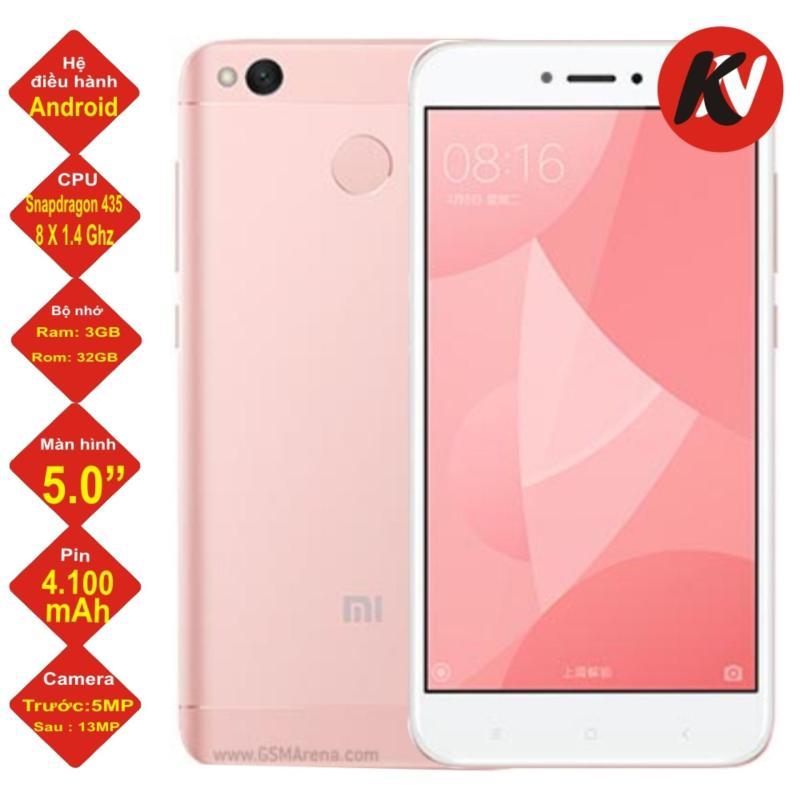 Xiaomi redmi 4X 32GB Ram 3GB 2017 (Hồng) - Hàng nhập khẩu