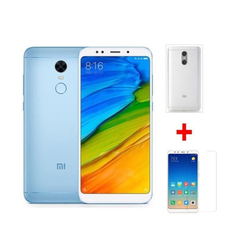 Xiaomi Redmi 5 Plus 32G Ram 3G (Xanh) + Ốp lưng + Cường lực - Hàng nhập khẩu