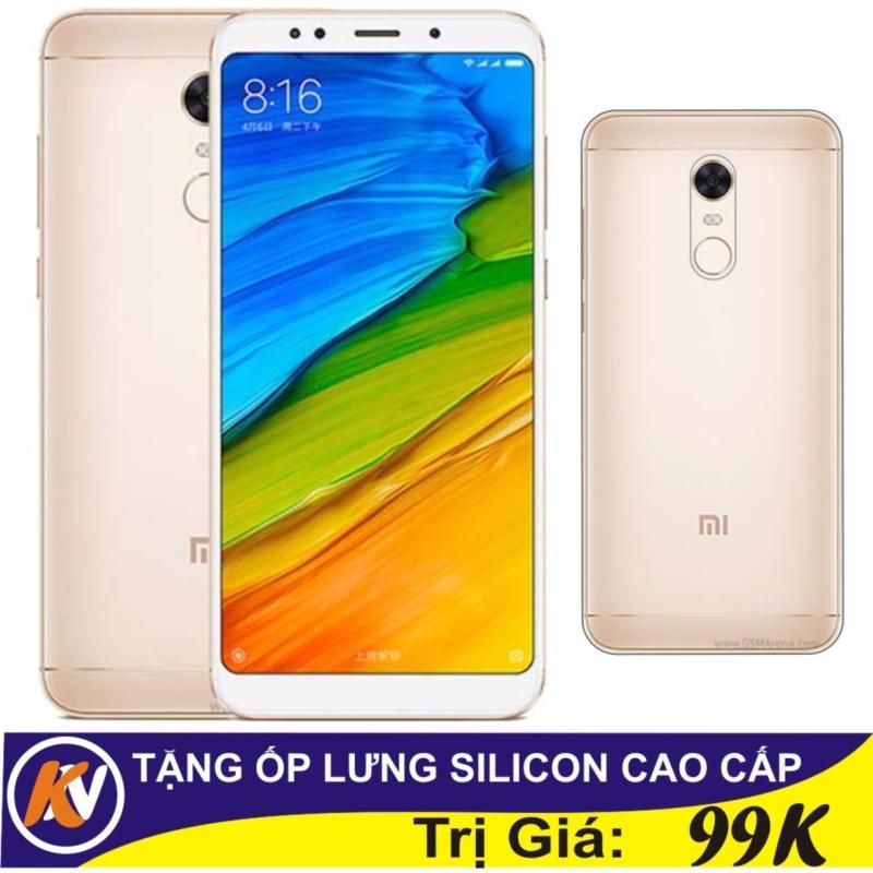 Xiaomi Redmi 5 Plus 64GB Ram 4GB Kim Nhung (Vàng) - Hàng nhập khẩu + ốp lưng silicon