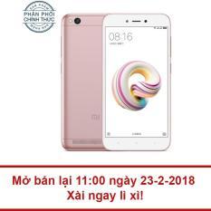 Giá Khuyến Mại Xiaomi Redmi 5A 16GB Ram 2GB (Vàng hồng) – Hãng phân phối chính thức