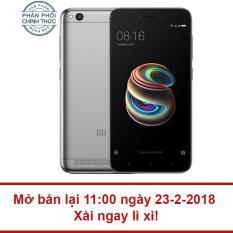 Giá Niêm Yết Xiaomi Redmi 5A 16GB Ram 2GB (Xám Đen) – Hãng phân phối chính thức