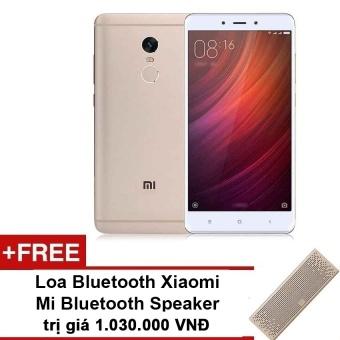 Xiaomi Redmi Note 4 64GB Ram 4GB (Vàng) - Hãng phân phối chínhthức+Tặng Loa Bluetooth Xiaomi Mi Bluetooth Speaker giá 1.030.000VNĐ