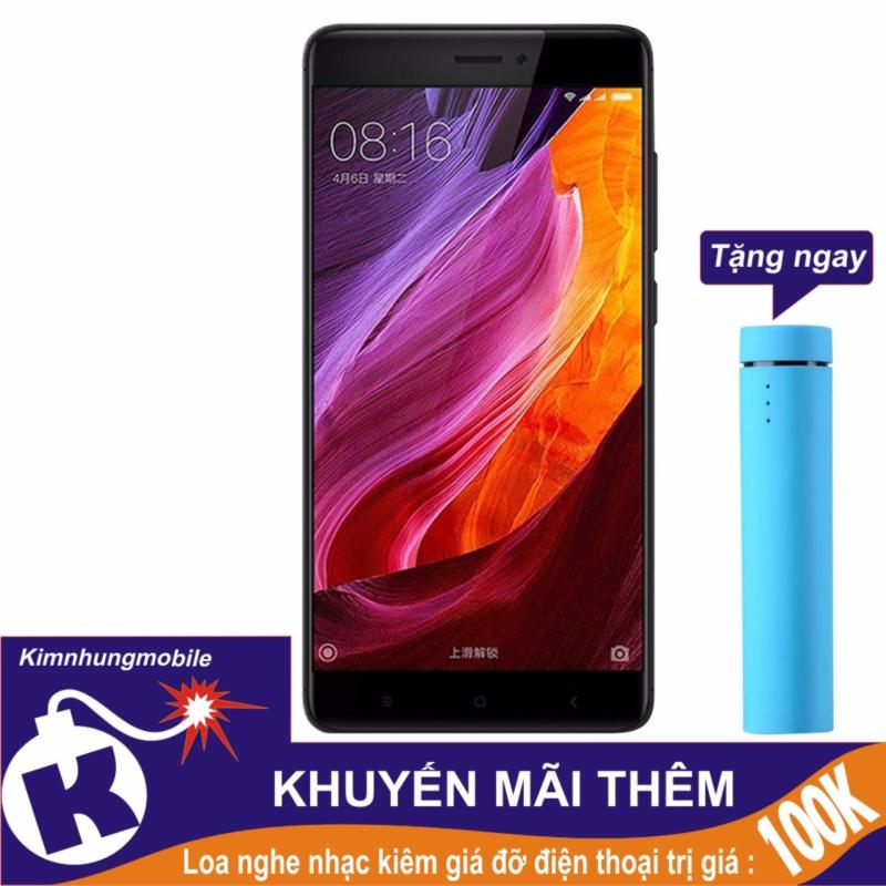 Xiaomi Redmi Note 4x 32gb 3gb Ram (Đen) - Hàng nhập khẩu + Loa nghe nhạc kiêm giá đỡ điện thoại