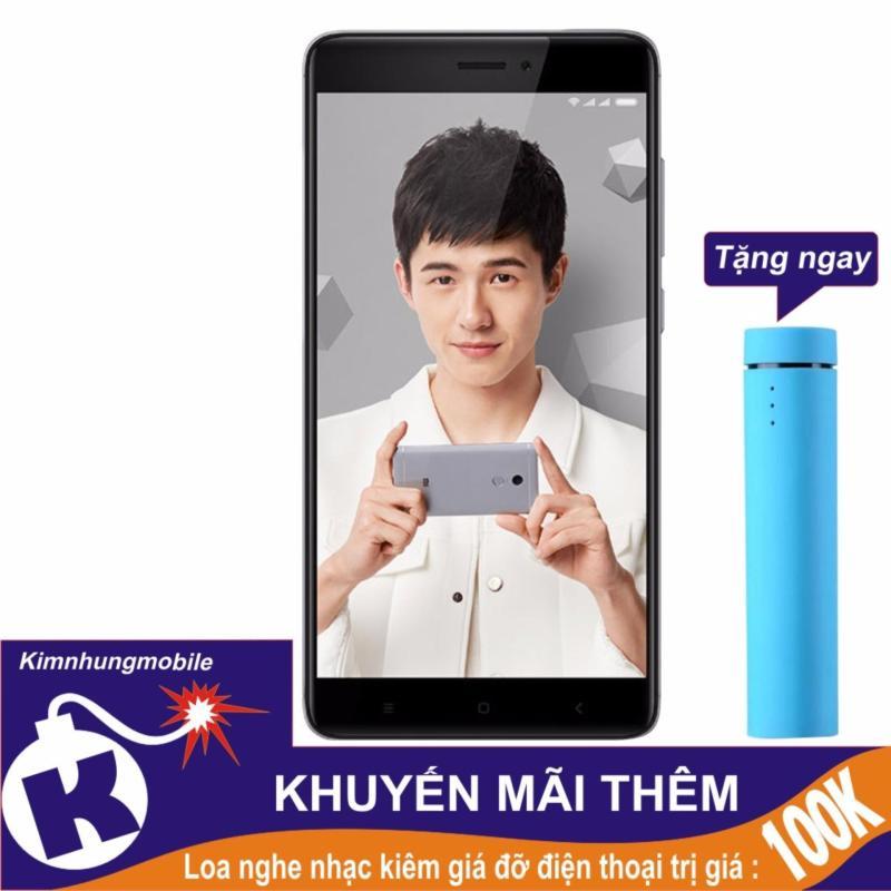 Xiaomi Redmi Note 4x 32gb 3gb Ram (Xám) - Hàng Nhập Khẩu + Loa nghe nhạc kiêm giá đỡ điện thoại