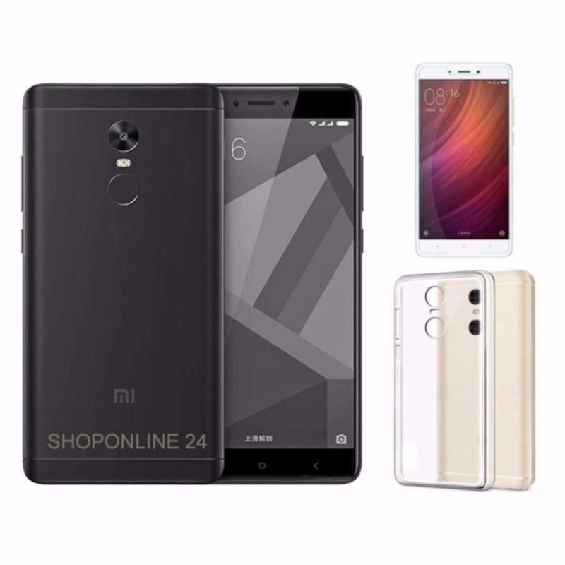 Xiaomi Redmi Note 4X 32GB (Đen nhám) + Ốp Lưng + kính cường lực - Hàng nhập khẩu