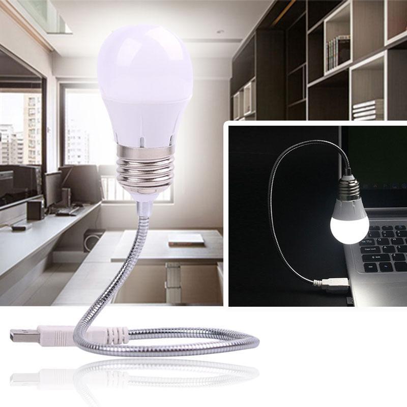 Bảng giá YYSL Flexible Creative USB LED White Bulb Fill Light Lamp Reading For Laptop PC - intl Phong Vũ